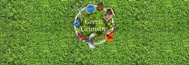 Green Grimsby banner